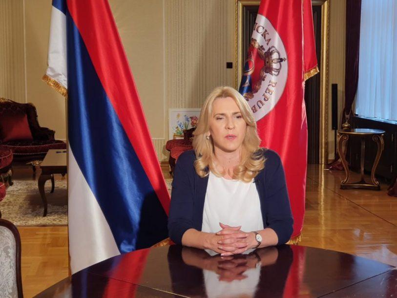"""""""TREBAMO JAČATI SVOJE INSTITUCIJE"""" Cvijanović poručila da Srpska želi partnerstvo sa svima u BiH"""