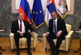 """LAVROV U BEOGRADU """"Rusija će se složiti sa rješenjem za Kosovo koje bude odgovaralo Srbiji"""""""