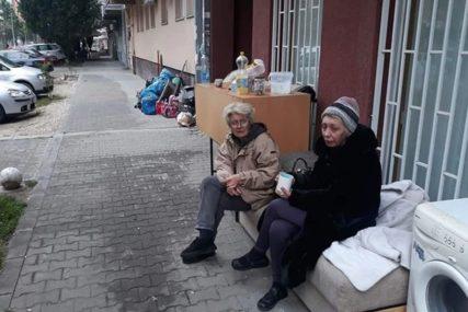 VAPAJ MAJKE I KĆERKE Izbačene iz stana zbog dva neplaćena računa, noć provele VANI NA KIŠI