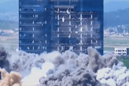 SVE JE UNIŠTENO U TRENUTKU Sjeverna Koreja objavila novi snimak EKSPLOZIJE (VIDEO)