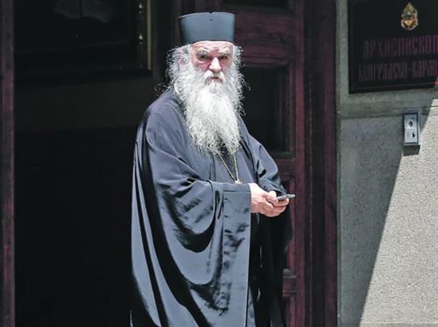 Mitropolit Amfilohije, Crna Gora