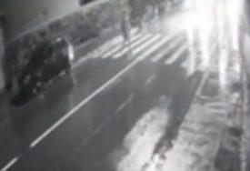 JEZIV SNIMAK POGIBIJE Mladića (29) kombi pokosio nasred pješačkog prelaza (VIDEO)