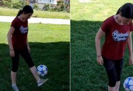 TAKO SE ŽONGLIRA Jelena Trivić oduševila svojim umijećem sa loptom (VIDEO)