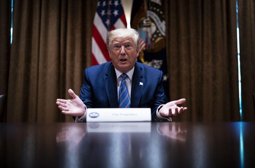 ODLUČENO Vrhovni sud DOZVOLIO djelimični uvid u finansije Donalda Trampa