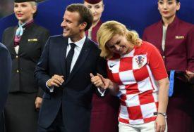 KOLINDIN SREDNJI PRST Potez bivše predsjednice Hrvatske privukao više pažnje od šoua na SP