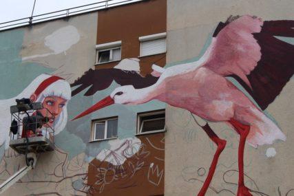 NAJLJEPŠI DOM ZA RODE Završen mural u Gradiški, pogledajte kako izgleda