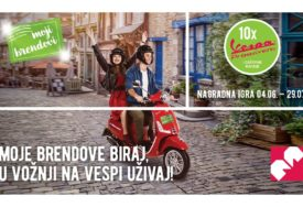 """PETI TALAS KAMPANJE """"Moje brendove biraj, u vožnji na Vespi uživaj!"""" (VIDEO)"""