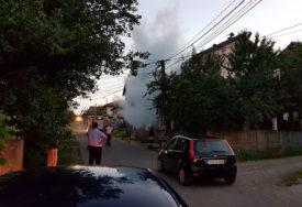 ZAPALILA SE BANDERA U DOBOJU Reagovali vatrogasci, a radnici sanirali oštećenje
