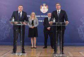 ZAHVALNOST VUČIĆU NA PODRŠCI Dodik: Srpska danas izgleda mnogo bolje zahvaljujući Srbiji