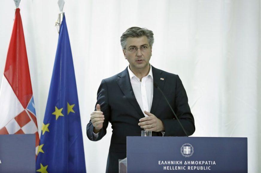 Plenković: HDZ pozicionirana tamo gdje je TUĐMAN postavio