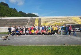 BUDITE DIO LIJEPE SPORTSKE PRIČE Konjičani pokrenuli akciju uređenja atletske staze