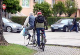 MUŠKARAC PODLEGAO POVREDAMA Saobraćajna nesreća bila kobna za biciklistu