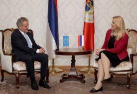 INSTITUCIJE SRPSKE OPREDJELJENE ZA EVROPSKI PUT Cvijanovićeva i Satler razgovarali o političkoj  i ekonomskoj situaciji