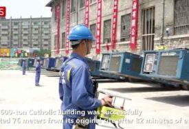 NE, NE PRIVIĐA VAM SE Kako su Kinezi za samo 82 minuta premjestili CIJELI MANASTIR (VIDEO)