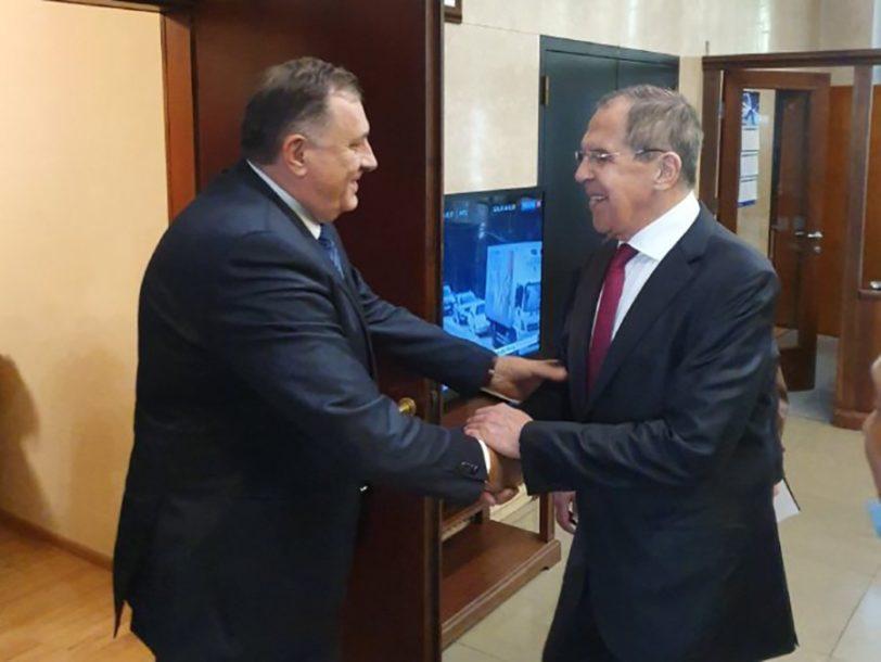 """""""POSEBAN SASTANAK U ISTOČNOM SARAJEVU"""" Dodik poručio da mu je važno što Lavrov dolazi u Srpsku"""