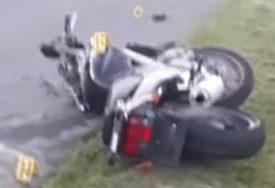 SLETIO SA PUTA Motociklista teško povrijeđen, prebačen u bolnicu