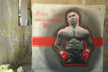 BANJALUKA VOLI BOKSERE Pogodite u čiju čast je urađen ovaj mural (FOTO)