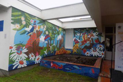 """Vrtić """"Bambi"""" krasi mural i podsjeća na VAŽNOST ŽIVOTNE SREDINE"""