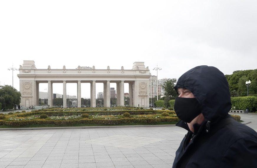 ZARAZA U RUSIJI NE MIRUJE U posljednja 24 sata registrovano 8.855 novih slučajeva infekcije
