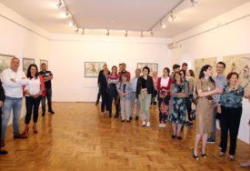 PRVA KULTURNA MANIFESTACIJA NAKON KORONA VIRUSA Zatvorena izložba beogradske slikarke u Trebinju