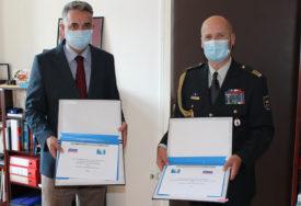 VOJNE SNAGE Potpisan Plan bilateralne saradnje BiH i Slovenije