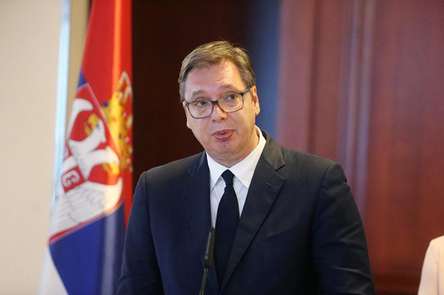IZ VAŠINGTONA DIREKTNO U BRISEL Vučić na sastanku sa Lajčakom i Palmerom, sutra nova runda dijaloga (FOTO)