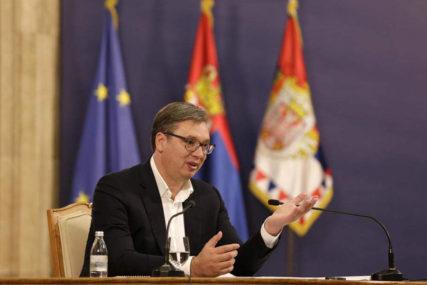 NASTAVAK DIJALOGA O KOSMETU Vučić: Dogovorene teme za sastanak u Briselu