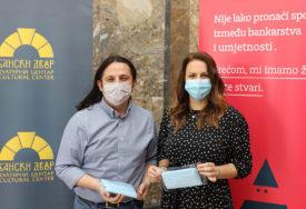 DONACIJA ZA SIGURAN BORAVAK Povratak publike u Kulturni centar Banski dvor uz podršku Addiko banke