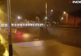 HEROINA IZ ZAGREBA Mirna je na ulici čula urlike i bez razmišljanja zaplivala ka autu koji je TONUO (VIDEO)