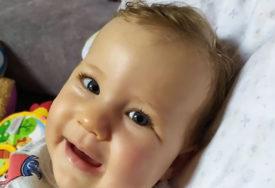 JEDINA ŽELJA ZA LANIN PRVI ROĐENDAN JE LIJEK Cijena spasa života ove bebe više od 2,1 MILIONA EVRA