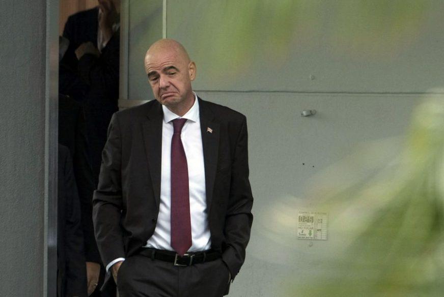 NEĆE SE POVUĆI SA FUNKCIJE Infantino na čelu FIFA i tokom sudske istrage