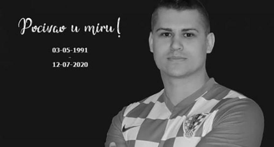 HRVATSKA ZAVIJENA U CRNO U stavičnoj nesreći poginuo bivši igrač Dinama i reprezentativac