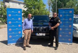 DONACIJA VLADE SAD Granična policija dobila terensko vozilo