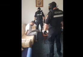 OSUMNJIČEN ZA UBISTVO STEFANA ŠAROVIĆA Evo kako je policija uhapsila Nikolu Ivovića (VIDEO)