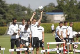 ZAMJENA ZA SADIKA ILI? Bivši igrač Juventusa na treningu Partizana