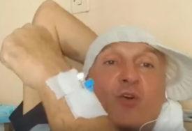 POLICIJA PRONAŠLA MIKIJA MEĆAVU Pjevač prije tri dana pobjegao iz kovid bolnice