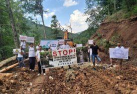 NE DAMO DA NAM UNIŠTE RIJEKU I VODOVOD Fočaci sutra izlaze na protest zbog izgradnje malih hidroelektrana