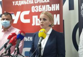 """POD SLOGANOM """"OZBILJNI LJUDI"""" Natalija Trivić šef Glavnog izbornog štaba Ujedinjene Srpske"""