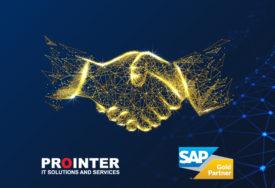 """Prointer postao Gold SAP partner: Kvalitetom do """"ZLATNE"""" AKREDITACIJE"""