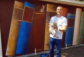 NA PUTU PREMA ĆUPRIJI Nastavljeno oslikavanje murala posvećenog Andrićevim djelima