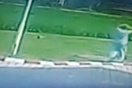 OD UDARA ŽENA ISPALA IZ VOZILA Trenutak stravične nesreće u kojoj su POGINULI SUPRUŽNICI (VIDEO)