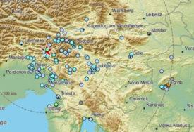 EPICENTAR KOD BOVCA Sloveniju potresao slabiji zemljotres