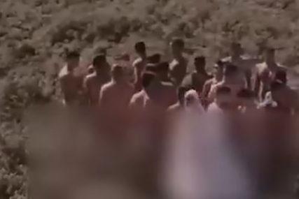 URNEBESNO Evo šta je 20 GOLIH MUŠKARACA sa jednom mladom snimalo u žitu ( VIDEO) - Srpskainfo