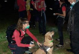 DRAMATIČNA POTRAGA KOD HADŽIĆA Pas Šmeki pronašao ženu bez svijesti (FOTO)