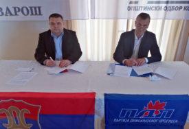 ZAJEDNIČKI KANDIDAT PDP I SDS Sakan i Trivunović potpisali sporazum o saradnji