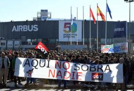 KOMPANIJA NAJAVILA OTKAZE Protest više hiljada radnika Erbasa u Španiji