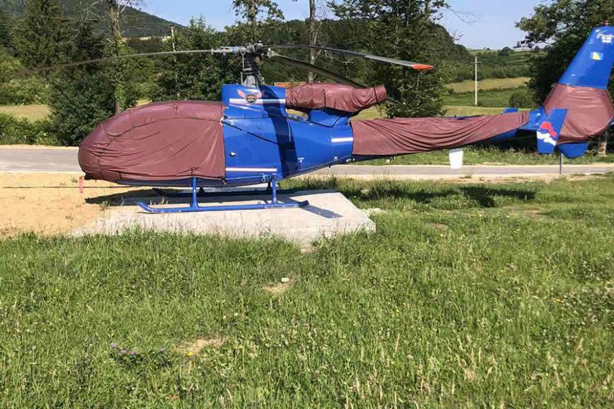 """ROSO TRAŽEN ZBOG 97 KRIVIČNIH DJELA Ovo je helikopter oduzet u akciji """"Parma 2"""" (FOTO)"""
