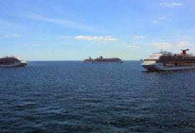 KRUZER NIJE UPLOVIO PET MJESECI Brodova za krstarenje skoro 90 posto manje u morskim lukama