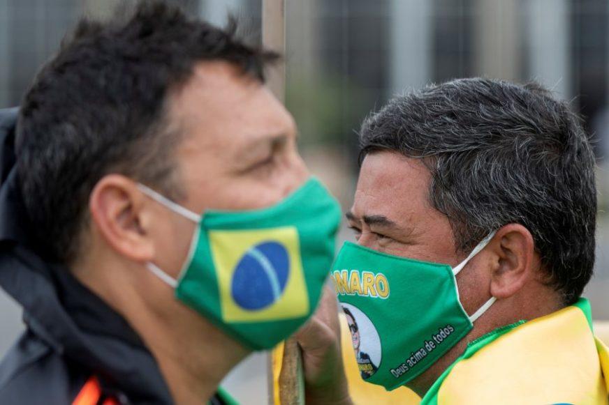 OPAKA ZARAZA NE JENJAVA U Brazilu za jedan dan umrlo 1.154 ljudi