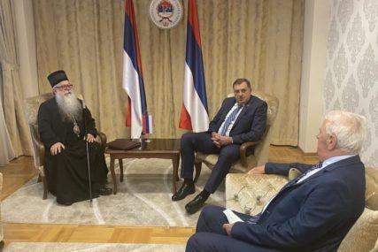 ŽELE UBRZATI PROCES Dodik i mitropolit Hrizostom razgovarali o povratku imovine SPC u Sarajevu